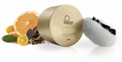 Tělový pudr Bijoux čokoláda