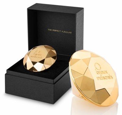 Vibrátor Twenty One zlatý diamant