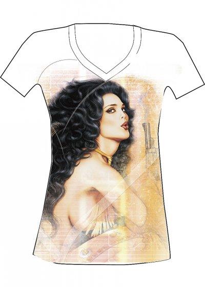 Dámské tričko Bettie Page 0204