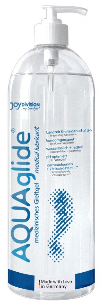 AQUAglide 1l lublikační gel s pumpičkou