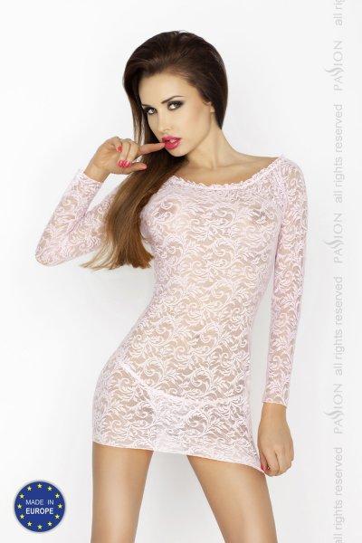 Krajková košilka Yolanda růžová