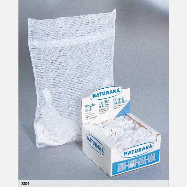Sáček na praní spodního prádla bílá Naturana