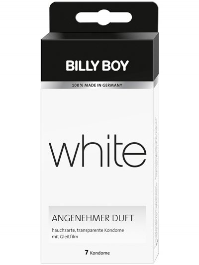 Kondomy Billy Boy 7ks white