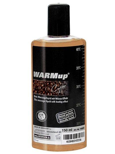 WARMup hřejivý masážní olej káva 150ml