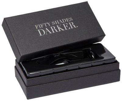 Skleněný anální kolík Fifty Shades Something Darker
