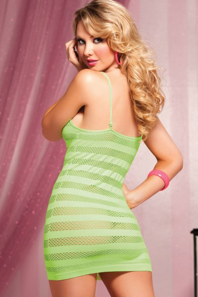 Bodystocking s proužky 9683X