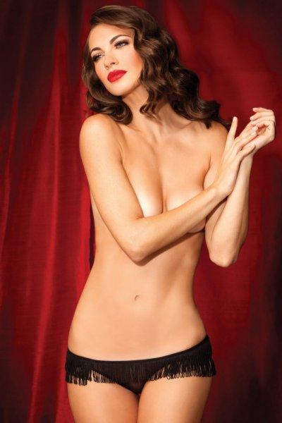 Kalhotky Showgirl s třásněmi 1091