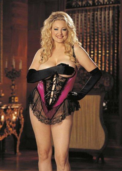 Erotické body s krajkou Diva X3900