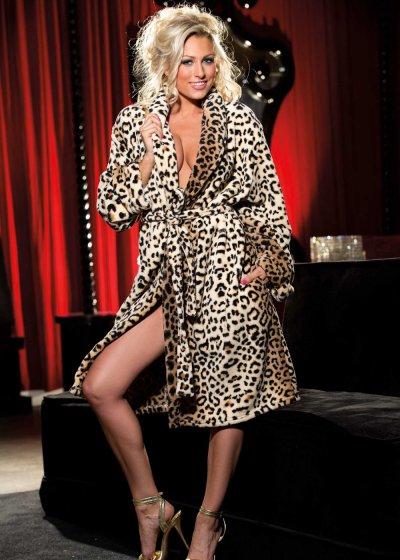Luxusní župan Leopard 31002