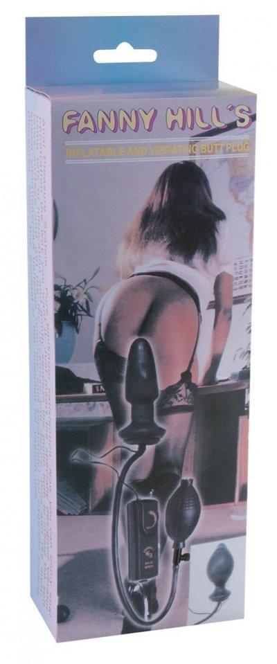 Nafukovací vibrační kolík z Latexu Fanny Hill's