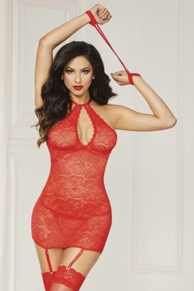 Seven Til Midnight Chemise & Panty Set (10844) 10844