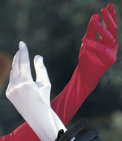 Dámské rukavice saténové 219